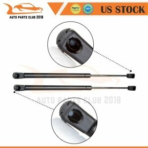 2 Rear Window Truck Camper Top 28lb Gas Charged Lift Supports Shock Strut