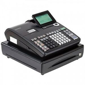 Retail Cash Register Machine Digital Lcd Display Small Business Money Terminal