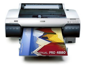 Epson 4880 Printer Stylus Pro Digital Photo Inkjet Plotter Ink Print Picture