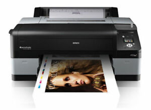 Epson 4900 Stylus Pro Digital Photo Inkjet Printer Plotter Ink Print Picture