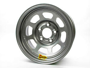 Aero Race Wheels 50 series 15x10 4in Bs 5x5 Steel Silver