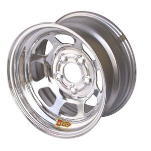 Aero Race Wheels 50 series 15x8 2in Bs 5x4 75 Steel Chrome