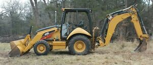 Caterpillar 420e Backhoe Loader 4wd