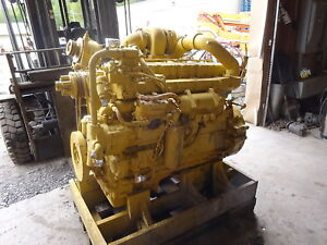 Caterpillar D333 Turbo Diesel Engine Good Runner Cat D 333 1673 3306 Loader