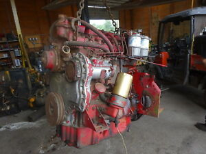 Perkins 4 236 Diesel Engine Good Runner Video 4 236 Industrial Ld Hyster