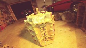 Mopar Dodge Plymouth 383 Engine Block With Crank