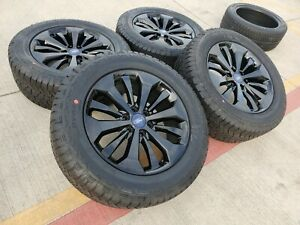 20 Ford F 150 Expedition 2019 2020 Fx 4 Oem Black Rims Wheels Tires 10006 New