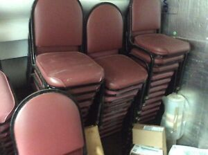 56 Stack Chairs For Restaurant Or Banquet