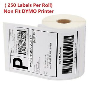 40 Roll 250 4 X 6 Zebra 2844 Eltron Direct Thermal Shipping 10000 Labels