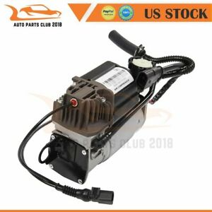 Single Air Suspension Compressor Fit Audi Q7 Porsche Cayenne Vw Touareg