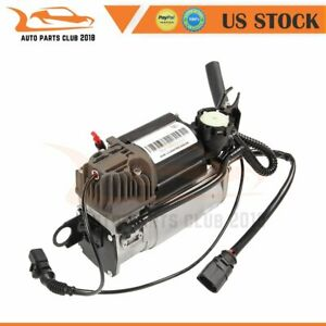 Single Suspension Air Compressor Fit Vw Touareg Audi Q7 Porsche Cayenne