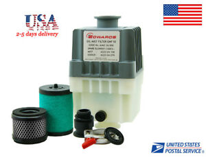 Us Edwards Emf10 Oil Filter Kf25 Port For Rv3 Rv5 Rv8 A462 26 000 Vacuum Pump