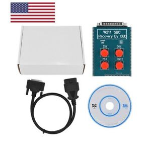 Usa Ship W211 R230 Abs Sbc Reset Scan Tool Repair Code C249f Obd Fit For Benz