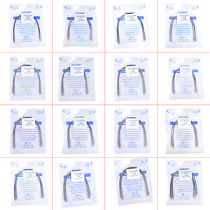 30x Azdent Dental Orthodontic Stainless Steel Rectangular Arch Wire Natural Form