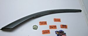 03 07 Saturn Ion Sedan 4 Door Passenger Side R Rh Rr Roof Panel Molding Trim Car