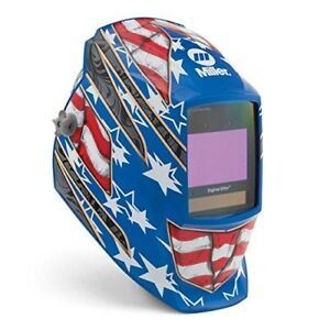 Stars And Stripes Iii Welding Helmet Miller 281002 Digital Elite Clearlight Lens