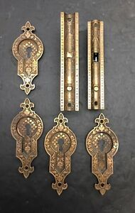 Antique Norwich Pockets Door Mortise Boxes And Pulls