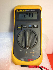 Fluke 16 Digital Portable Handheld Multimeter