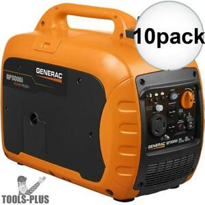 Generac 7129 Gp3000i 3000 Watt Inverter Generator 10x New