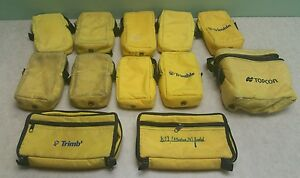 Trimble Topcon Spectra Case Lot Various Different Styles 42 Cases In Total