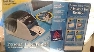Avery Personal Label Printer Model 9100 Bonus Starter Kit Nwt