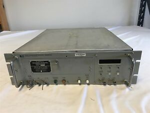 Hp Hewlett Packard Cesium Beam Frequency Reference 5062c untested
