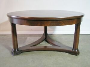 Vintage Baker Furniture Empire Gueridon Style Coffee Table Newly Restored