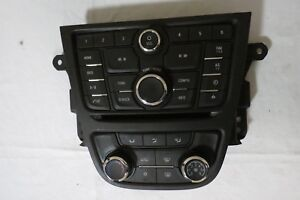 13 14 15 16 Buick Encore Climate Control Panel Radio Cd Player Dash Bezel Oem