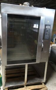 Lbc Bakery Lmo e Baker Series Mini Rotating Rack Oven with Stand