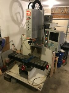 Haas Tm 1 Cnc Toolroom Mill 47 75 X 10 5 Table 4000rpm Ct40 7500hrs 2001