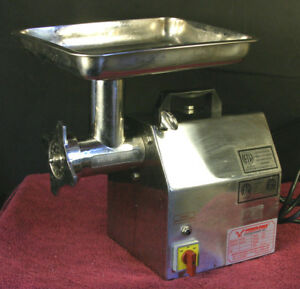 American Eagle Ae g12n 1hp Stainless Steel Commercial Meat Grinder 2011