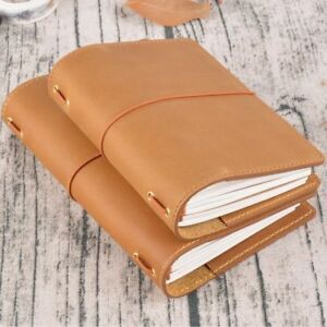 Genuine Leather Notebook Journal Vintage Costume Solid Handmade Diary Notepad