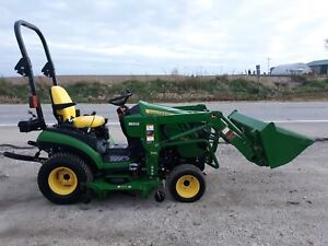 Jd 1026r With H120 Loader W Autoconnect 60 7iron Drive Over Deck 2012