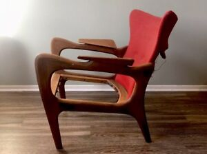 Adrian Pearsall Wing Chair 2291 C