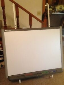 48 Smart Board Sb640 smart Tech White Board W 2 Pens nontested