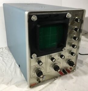 Vintage Rca Solid State Oscilloscope Wo 505a For Repair