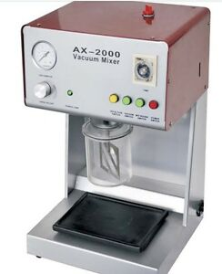 Dental Lab Vacuum Mixer With Built in Vacuum Pump Specification Ce