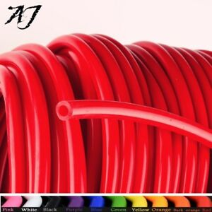 For 20 Feet 1 8 3mm Fuel Air Silicone Vacuum Hose Line Tube Pipe Red