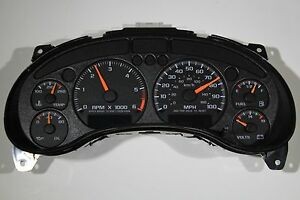 98 1998 Rebuilt S10 Truck Blazer Jimmy Instrument Cluster Fits Column Shift Only