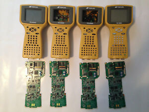 Lot Of Four Topcon Fc 2000 Gps Data Collectors For Spare Parts Or Repair