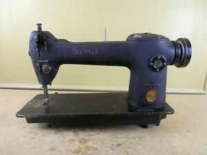 Vintage Singer 241 11 Industrial Sewing Machine Head Single Needle Heavy Duty