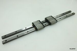 Thk Used Sr15w2uu 520l Lm Guide Linear Bearing 2rail 4block Cnc Route Nsk iko