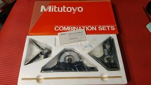 nos Mexico Made Mitutoyo 12 Inch Combination Square Set machinist Welding