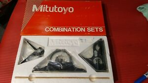 new Mexico Made Mitutoyo 12 Inch Combination Square Set machinist Welding t1