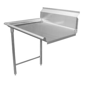 24 All Stainless Steel Clean Dish Table On Left