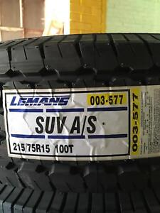 4 215 75r15 Lemans Suv As Ww 100t Passenger Tire 2157515 215 75 15