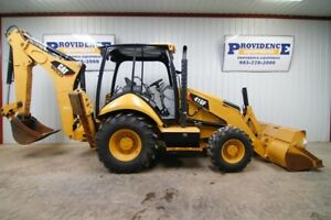 Caterpillar 416f 4wd Backhoe Loader 87 Hp Shuttle Shift 23 Backhoe Bucket