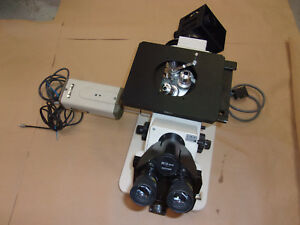 Nikon Epiphot Inverted Metallograph Metallurgical Microscope