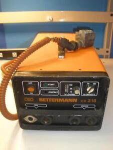 Obo Bettermann Portable Welder Source Inverter Cd 318