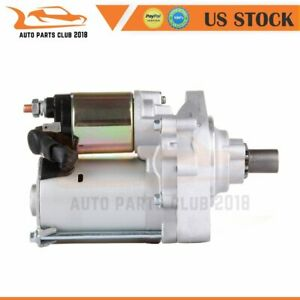 New Starter For 2 3l Honda Accord 1998 1999 2000 2001 2002 31200 paa a02 17729